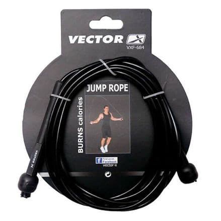 Vector X Sleek Jump Rope - Training, Gym, Fitness